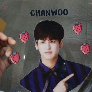 Terima cetak custom kipas fans korea/artist lainnya